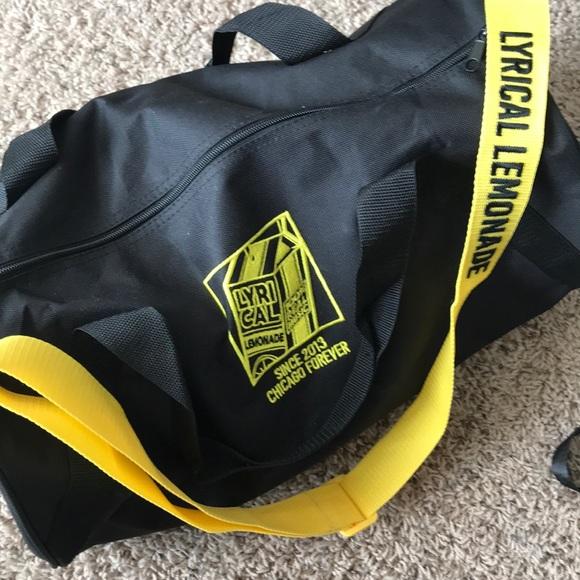 Lyrical lemonade duffel bag NWT